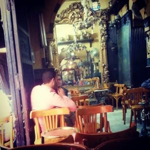 مقهى الفيشاوى حيث كان نجيب محفوظ يجلس لكتابة رواياته