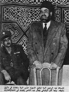 عبد الناصر قبل أنتهاء فترة وفاقه مع الأخوان عام 1954