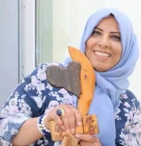 المدونة الليبية أحلام البدرى بطلة القصة الحقيقية