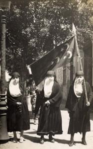 متظاهرات ثورة 1919